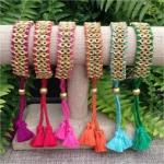 Callie Tassel Bracelet - Turquoise