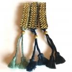 Callie Tassel Bracelet - Black