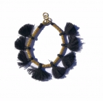 Minnie Black Tassel Bracelet