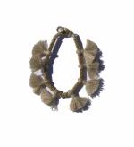 Minnie Taupe Tassel Bracelet