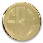 Monogram Blazer Buttons, Plain